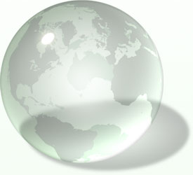 Geo-Innovations Glass Globe